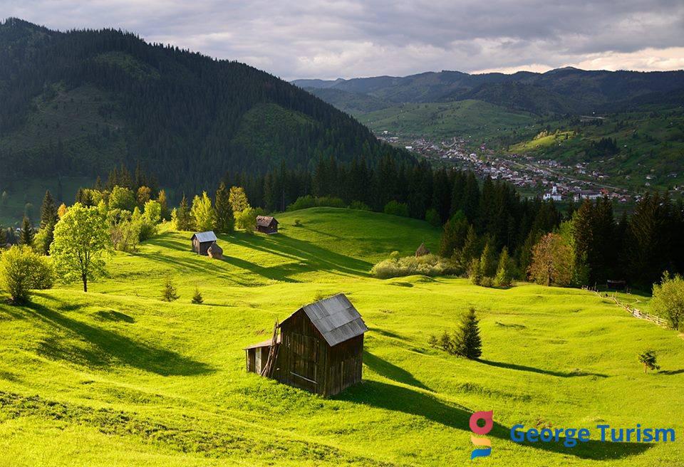 Landschaft in die Bukovina